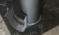 Sokkel in Arduin verzoet, handgemaakt